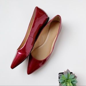 Audrey Brooke Red Flat